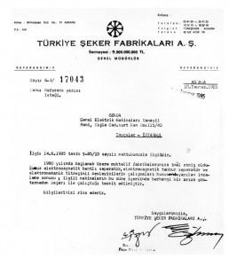 Türkiye Şeker Fabrikaları A.Ş